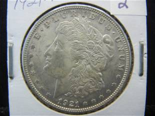 1921 Morgan Dollar Higher Grade
