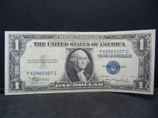 1935A One Dollar Silver Certificate