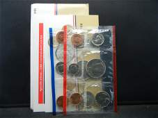 1986 United States 10 Coin Mint Set With Original