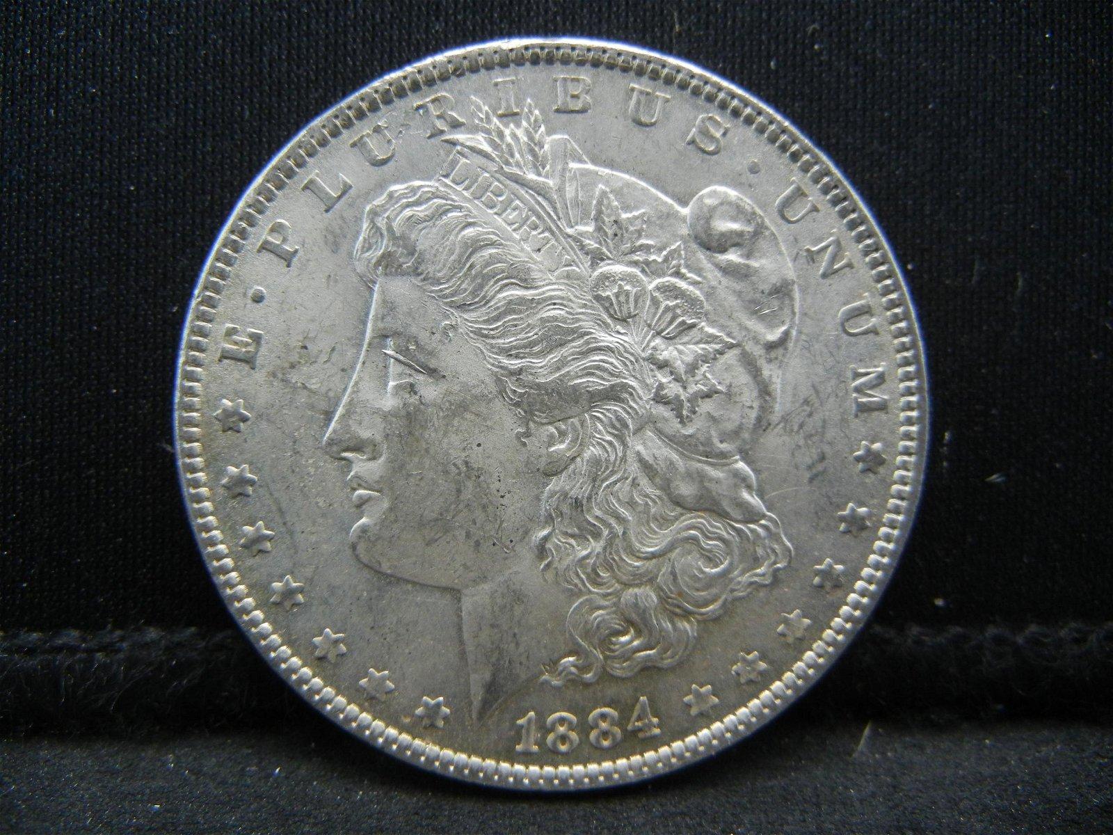 1884 O Morgan Dollar CH BU Nice!
