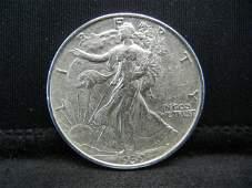 1939 Walking Liberty Half Dollar Higher Grade