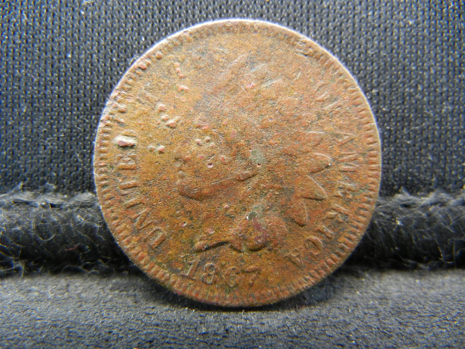 1867 United States Indian Head Penny Cent