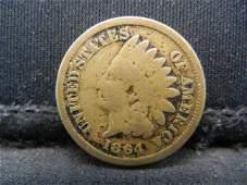 1864 CN Indian Head Cent. Civil War Year.