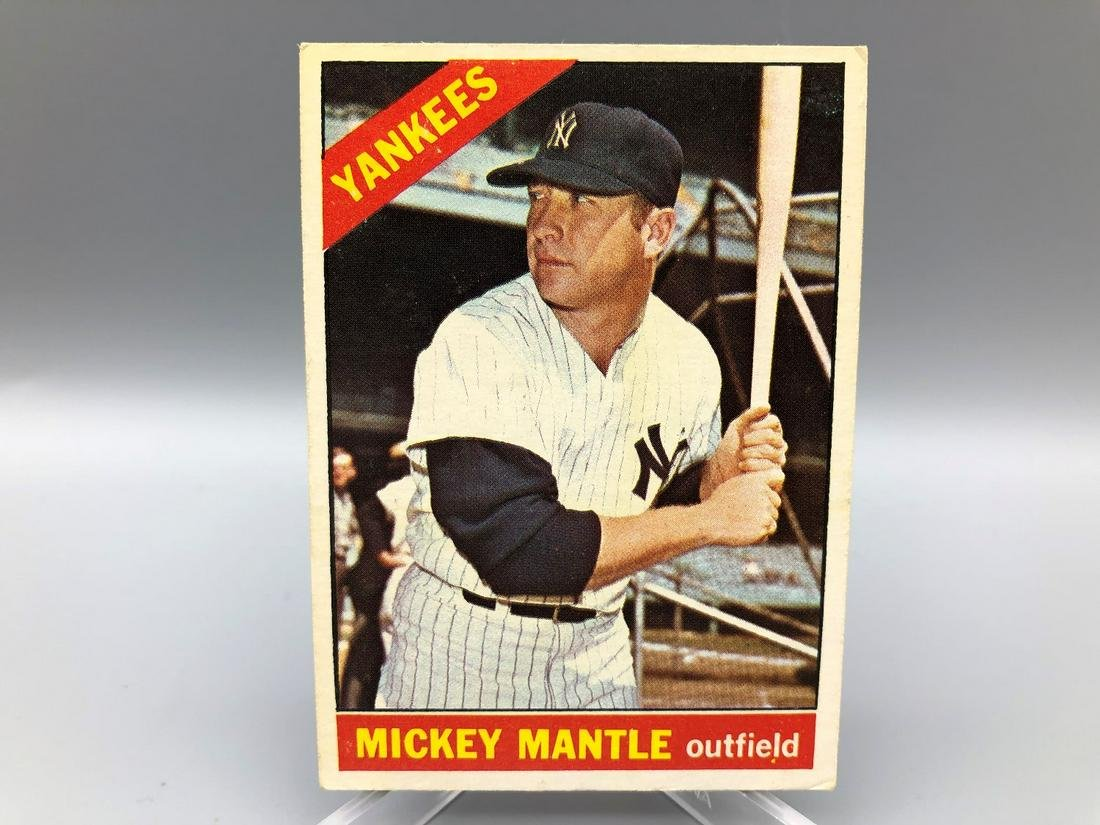 1966 Topps Mickey Mantle #50