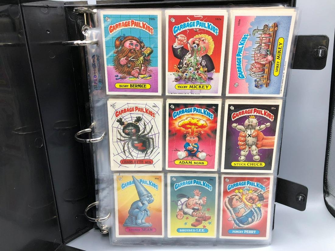 Album of Vintage Topps Garbage Pail Kids cards - 186
