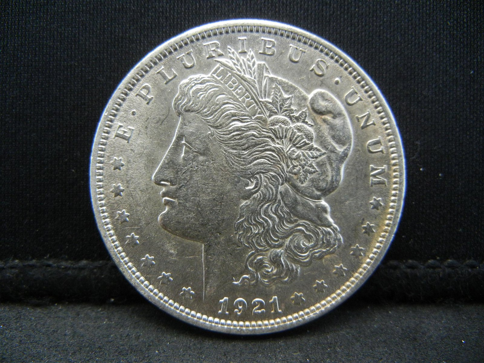 1921 Morgan Silver Dollar - 90% Silver - High Grade!