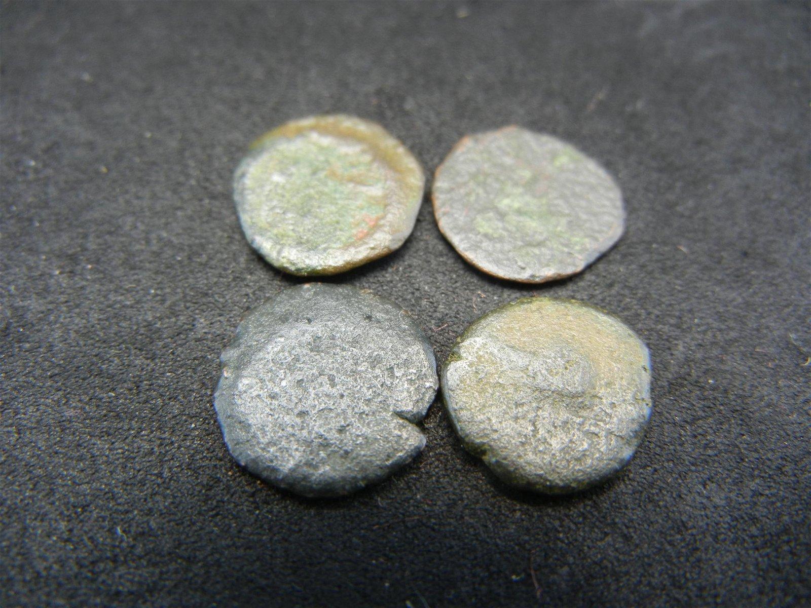(4) 175-330 AD ANCIENT ROMAN COINS