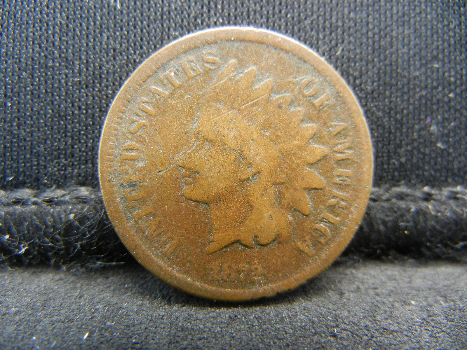 1872 United States Indian Head Penny Cent