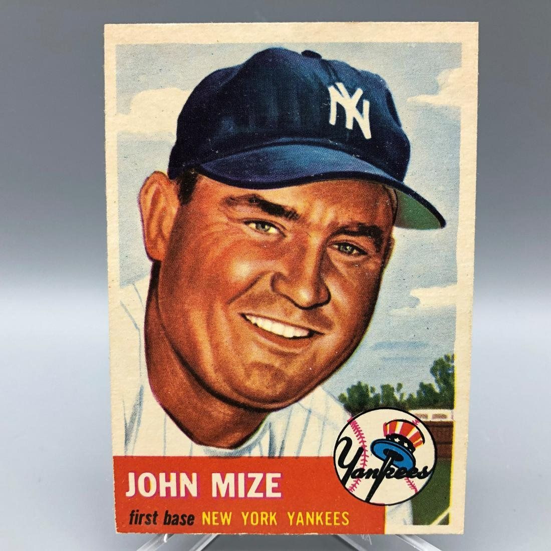 1953 Topps John Mize #77 HOF