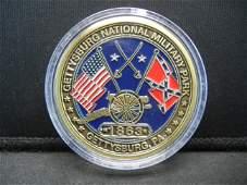 Gettysburg National Military Park Medal