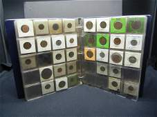 Large collection of foreign coins, Mixed Countries and