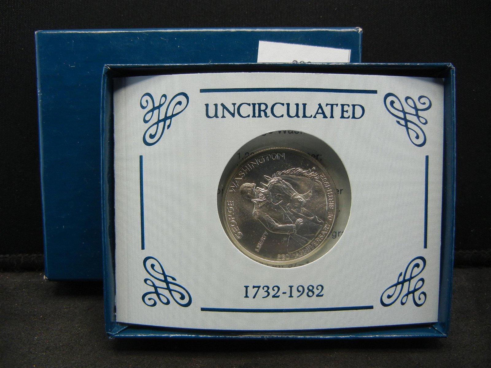 1982 United States Uncirculated George Washington