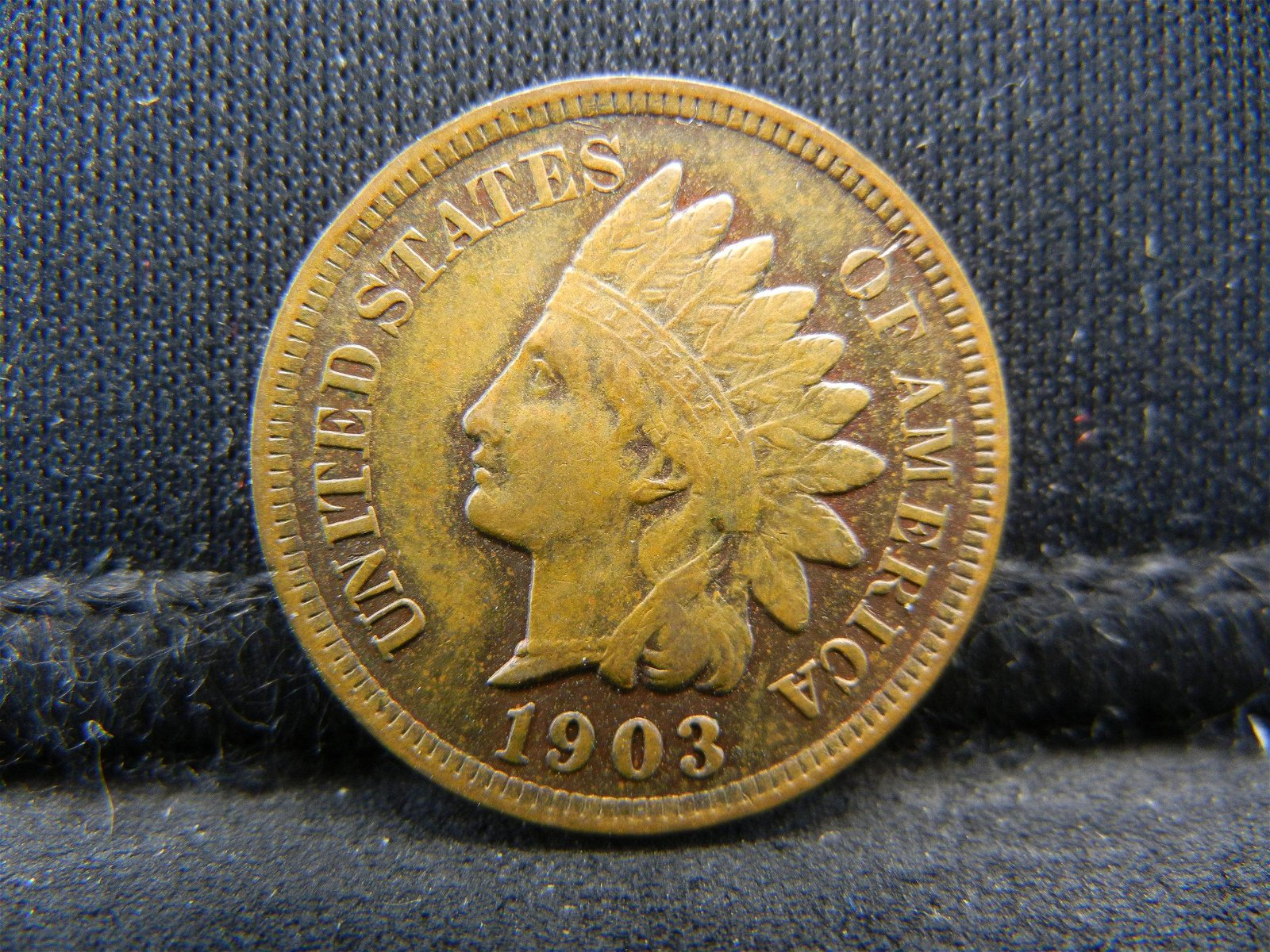 1903 United States Indian Head Penny Cent