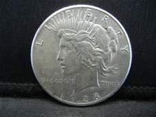 1928 Peace Dollar AUBU Key Date