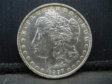 1897 O Morgan Dollar AU+++ Key Date Scarce in Higher