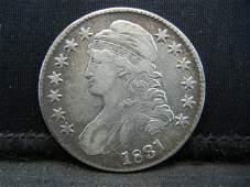 1831 Capped Bust Half Dollar XF++