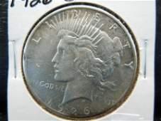 1926-S KEY DATE Silver Peace Dollar - HIGH GRADE