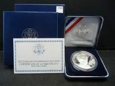 2009 Proof Abraham Lincoln Commemorative Silver Dollar