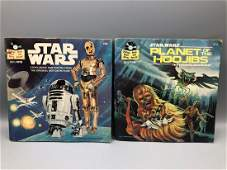 Star Wars & Planet of the Hoojibs Book and Record Sets