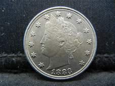 High Grade 1883 Liberty Nickel
