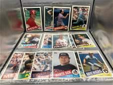 1985 Topps Super Baseball Lot of 18 Cards  Jumbo
