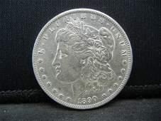 1890 O Morgan Dollar Strong Details Better Date