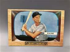 1955 Bowman Al Kaline #23 2nd Year card! HOF