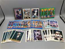 lot of 50 Ken Griffey jr cards with rookie