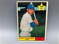 1961 Topps Billy Williams #141 Rookie Card