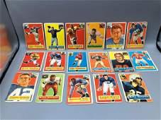 17 1956 Topps Football  HOF Stars  Rookies