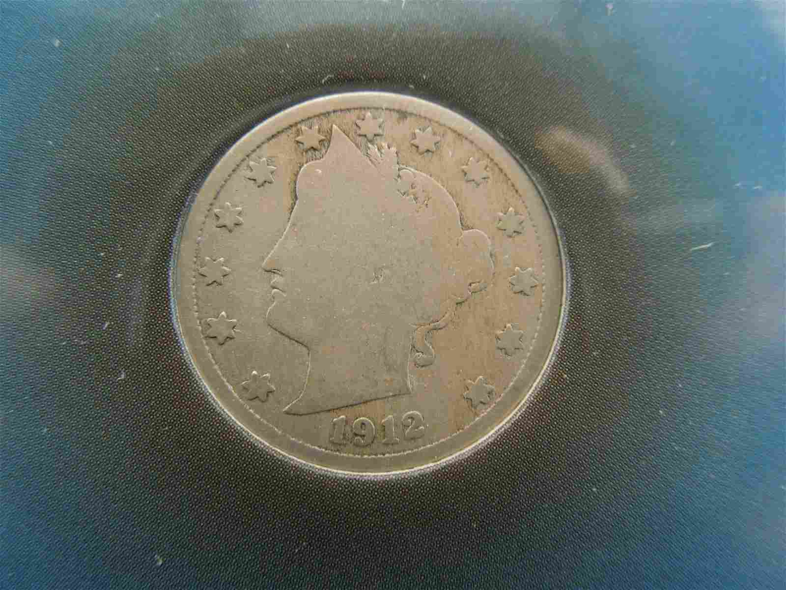 1912 Liberty Nickel in Neat PKG