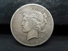 1928 Peace Dollar Key Date