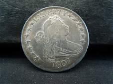 1807 Draped Bust Half Dollar XF++ Rare