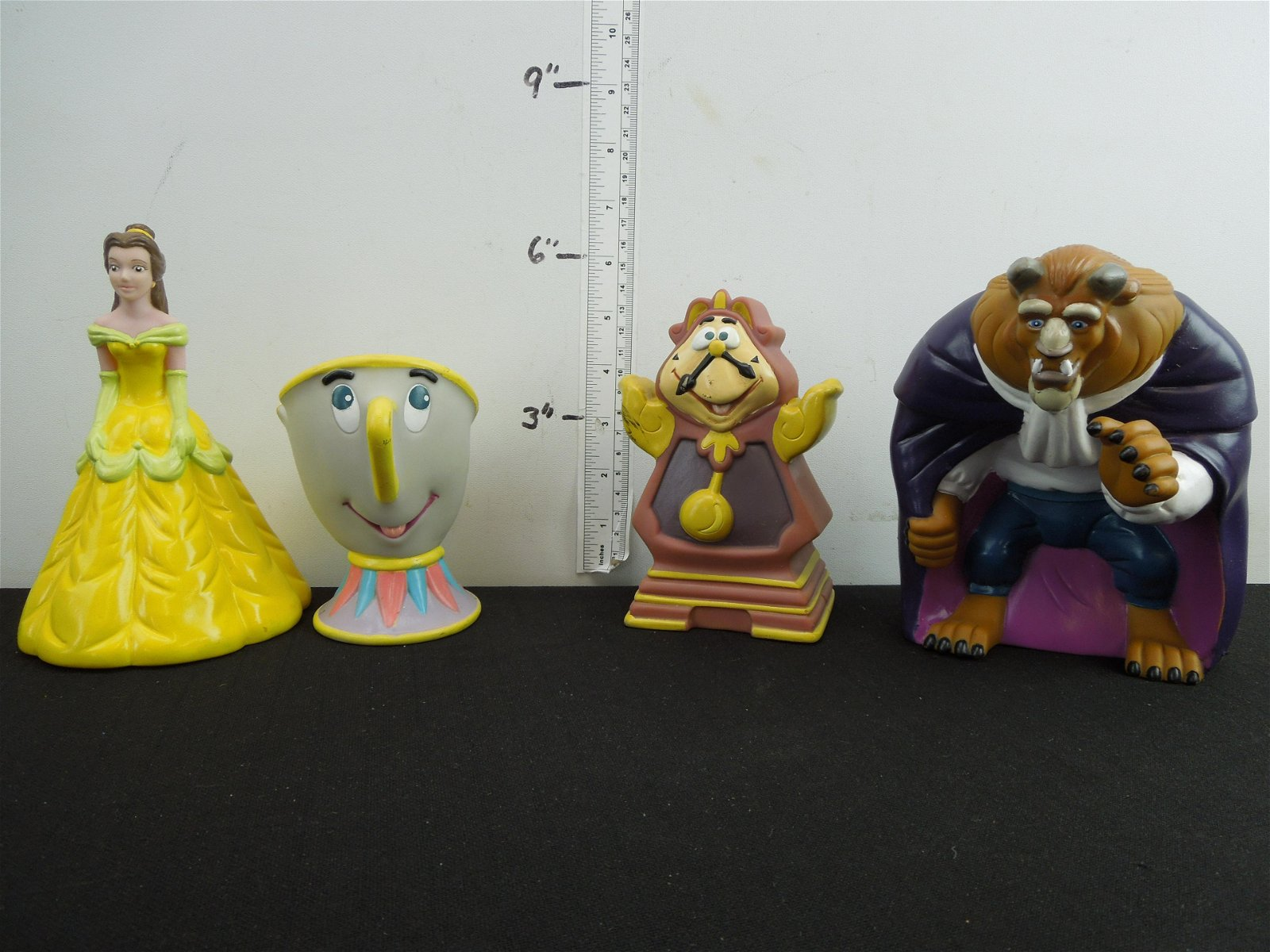 Disney's Beauty and the Beast Rubber Toys