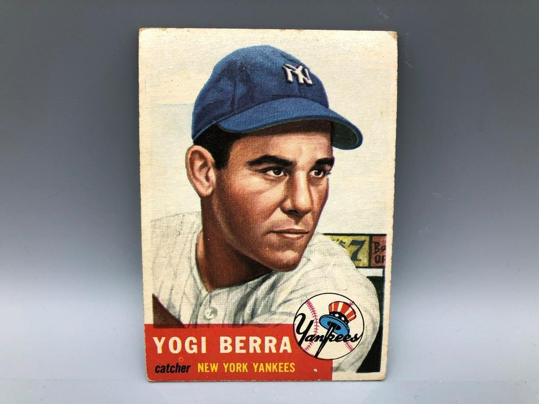 1953 Topps Yogi Berra #104 Short Print HOF