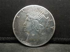 1927-P Silver Peace Dollar Better Date