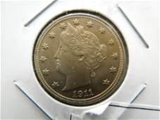 1911 Liberty Nickel BU Strong Details