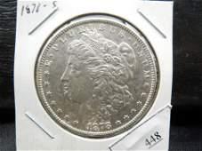 1878 S Morgan Dollar Strong Details Better Date