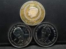 three medal lot includes john f Kennedy berlin wall