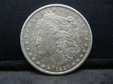 1897 S Morgan Dollar Strong Details Better Date