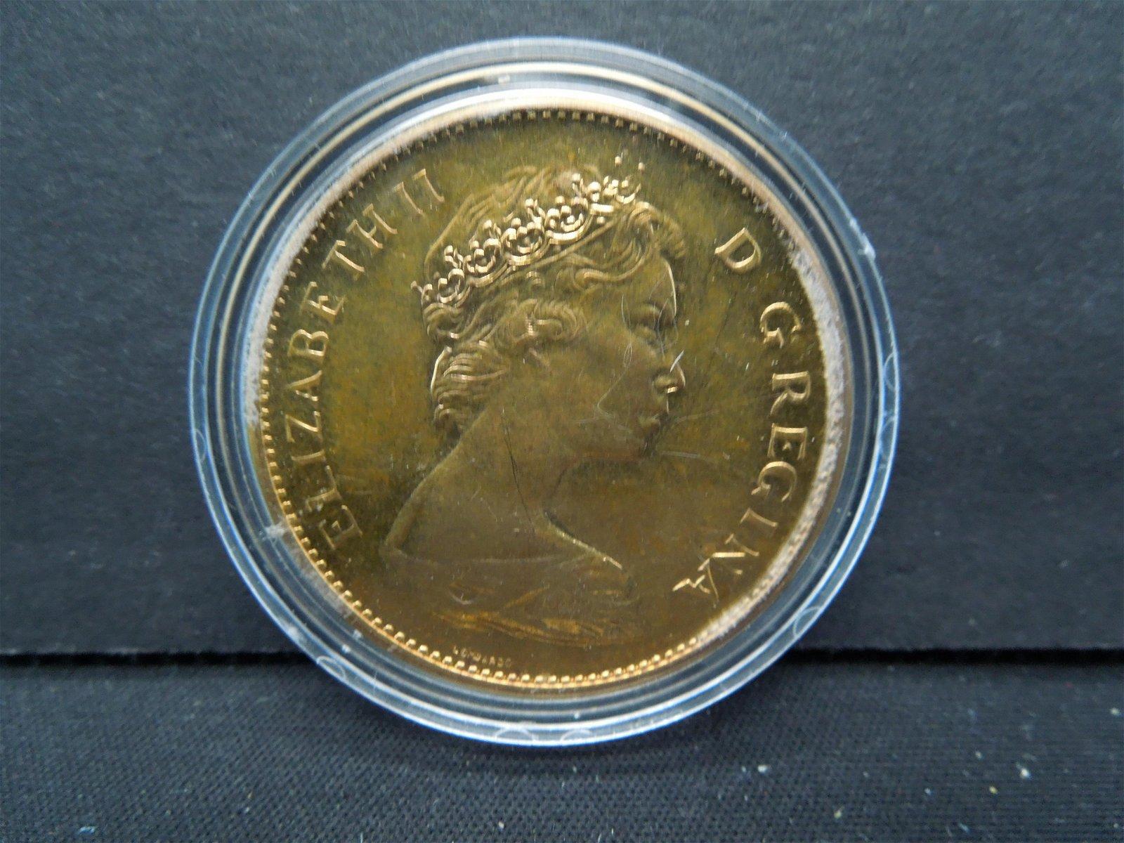 1967 Canada Twenty Dollar Gold Coin