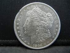 1904 Morgan Dollar Strong Details Better Date