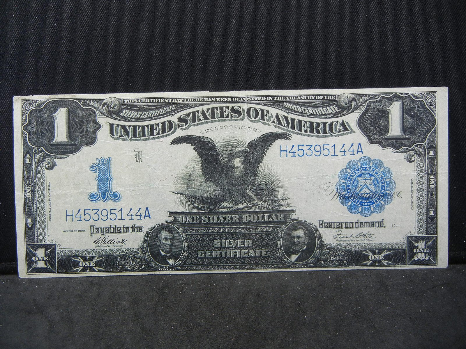 1899 Large Black Eagle Silver Certificate