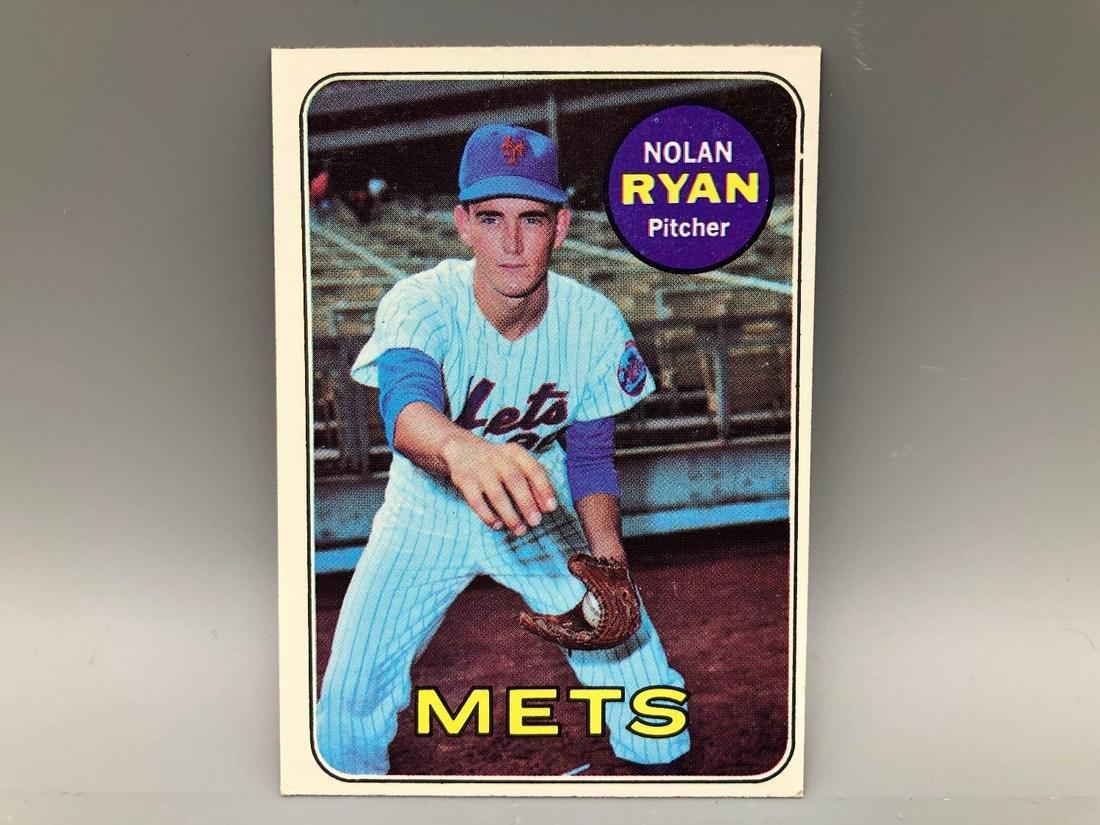 1969 Topps Nolan Ryan #533 2nd Year Card HOF