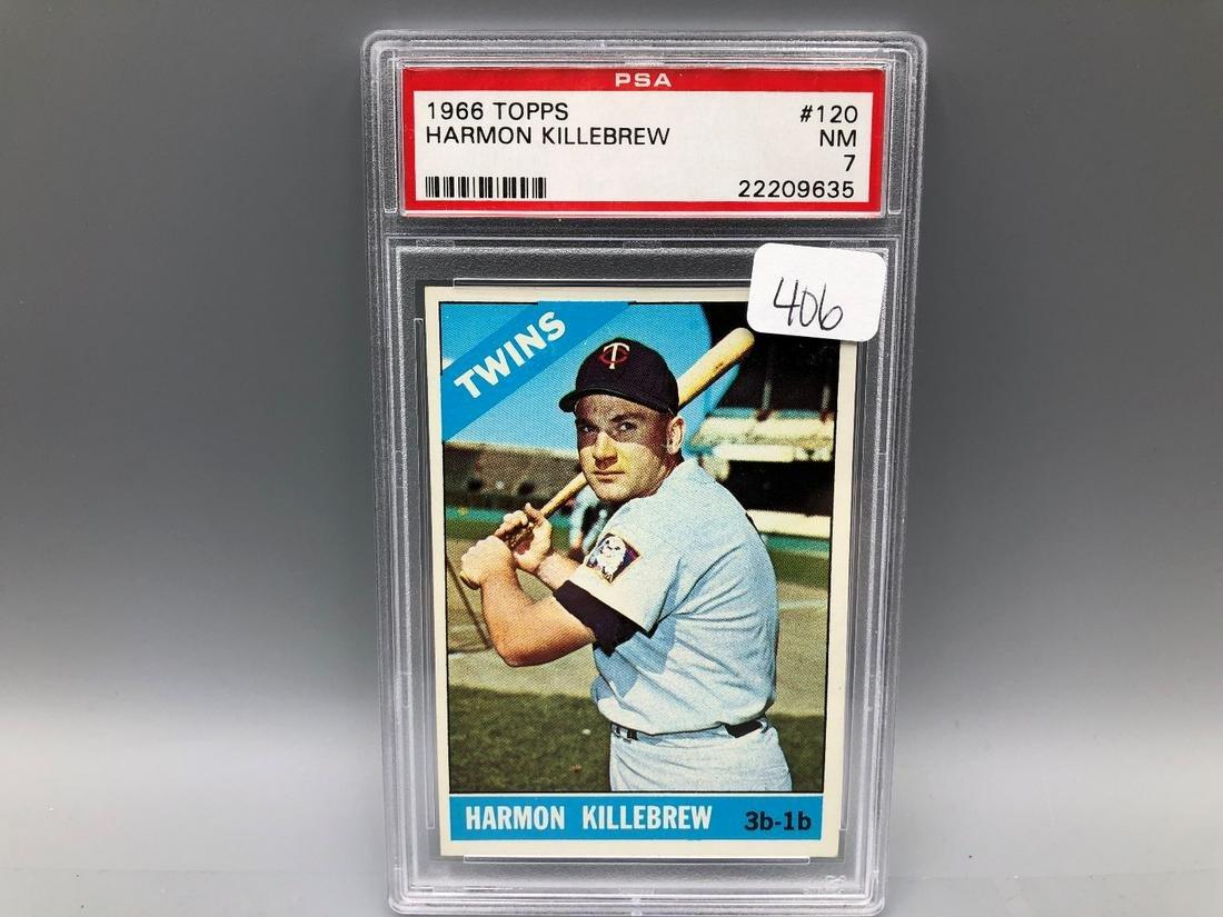 1966 Topps Harmon Killebrew #120 PSA 7 NM