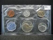 1962 United States 5-Coin Proof Set With Original Gov't