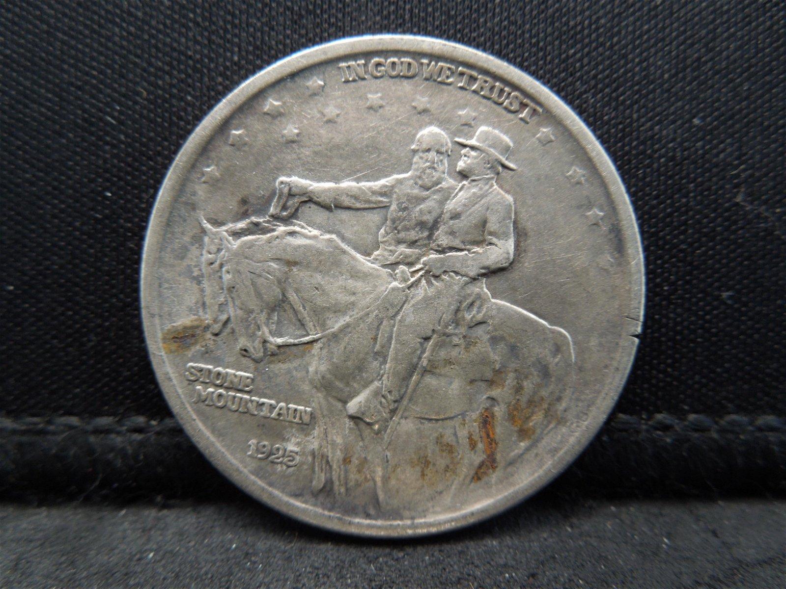 1925 Stone Mountain Half Dollar Commemorative