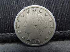 1885 Liberty Nickel Strong Details Key Date