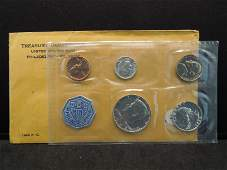 1964 United States 5-Coin Proof Set With Original Gov't