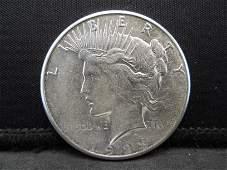 1923 S Peace Dollar Higher Grade